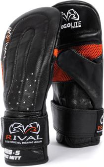 Rival Leather Bag Mitts